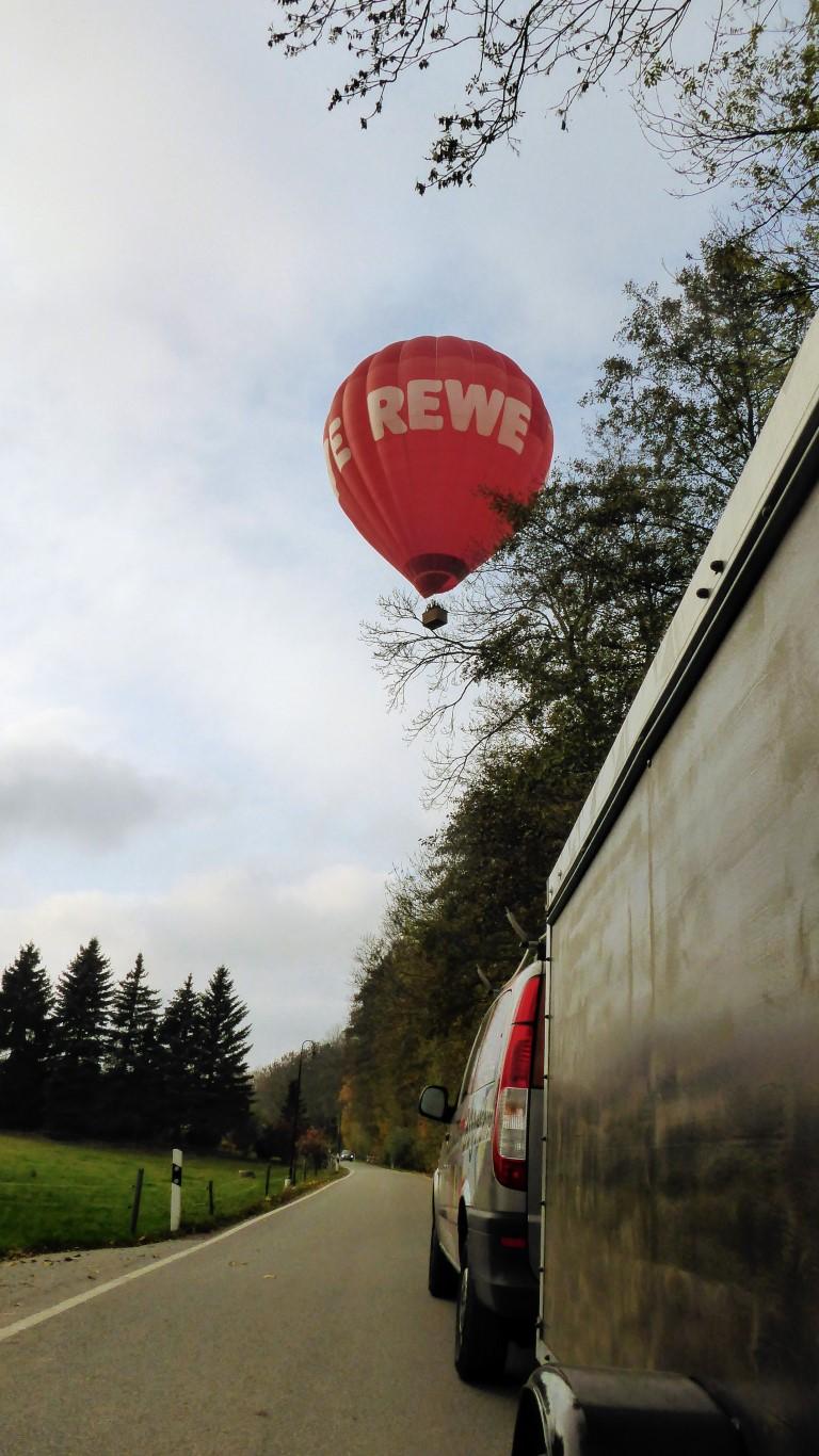 Rewe Ballonfahrten Lorenz Sachsen Zwickau Crimmitschau Glauchau Meerane