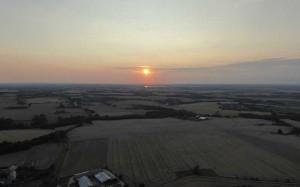 Abendfahrt-Sonnenuntergang