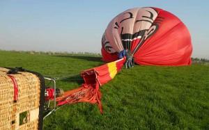 Ablauf-Landung-ausdruecken
