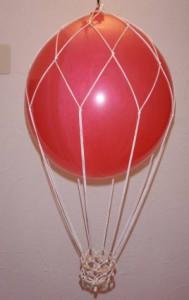 ballon mit netz large